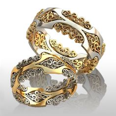 «Золотой Дом» - Обручальные кольца YJ-918, золото 585 пробы, 4 гр. - купить в интернет-магазине за 32600 руб. в Санкт-Петербурге и Краснодаре