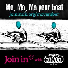 Join In with Movember: Mo, mo, mo your boat. Who better to rally the troops and support the Movember cause than sports clubs? By hosting a MOVE event encouraging people to get active, you'll get the chance to raise funds for Movember and climb up the Join Movember, Sports Clubs, Raise Funds, Volunteers, Troops, Rally, Raising, Climbing, Join