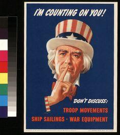 Vintage U.S. World War II Posters