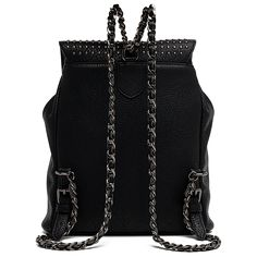 Studded faux leather backpack. Faux Leather BackpackLeather BackpacksBeautiful  BagsReplay