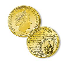 The Magna Carta Legacy 24K Gold-Plated Coin Collection