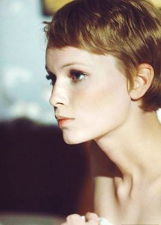 Hair Color insp. - not brave enough to do the cut, but my color was blended from Mia Farrow circa RB
