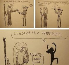 Harry potter and lotr.