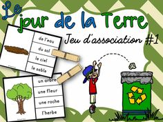 Earth Day Activities, Clip, Centre, Nutrition, Game Environment, Vocabulary Games, Earth Day, Sustainable Development