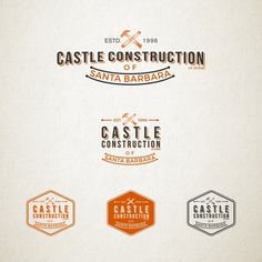 Create a unique logo for our high quality construction company, the design does not necessarily need to have a castle in by Baskush