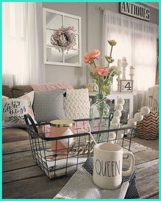 If you are looking for Rustic Farmhouse Living Room Decor Ideas, You come to the right place. Here are the Rustic Farmhouse Living Room Decor Idea. Modern Farmhouse Living Room Decor, Diy Home Decor Rustic, Shabby Chic Living Room, Rustic Farmhouse, Farmhouse Style, Cottage Style, Farmhouse Ideas, Rustic Style, Modern Living