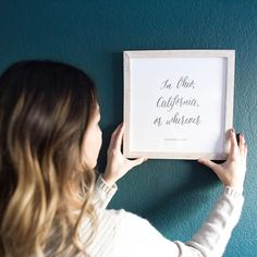 The  lyrics  to your life. Create a custom letter press print with your favorite lyrics, quotes, or your treasured wedding vows with Minted Completely Custom #MintedArt pieces here.