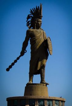 "Cuauhtémoc.the last Aztec emperor.His name means ""One That Has Descended Like an Eagle."""