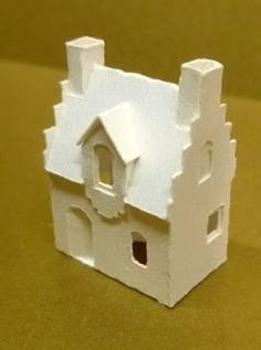 Karin Corbin Miniatures - wonderful tutorial on miniature paper houses. Check out her blog for other ideas