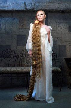 long hair - fake but pretty
