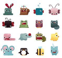 iconic styled animals