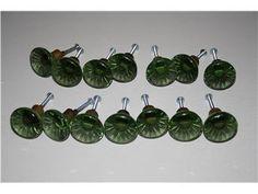 Green; Lindshammar Sweden Kosta Boda, Glass Knobs, Knobs And Pulls, Door Knobs, Retro, Fit, Green, Inspiration, Auction