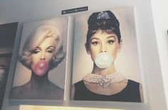 Aubrey and Marilyn--need this for my collection- Nik