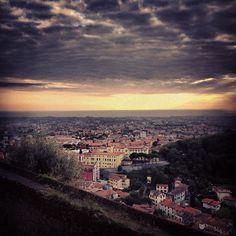Massa vista dal castello Malaspina