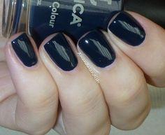 @Jess Liu Nails Blue Aria | Amandalandish