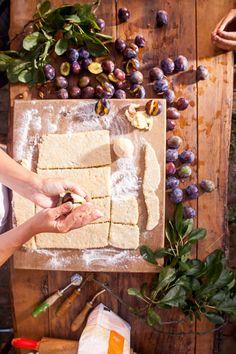 Recept: Švestková povidla a švestkové knedlíky