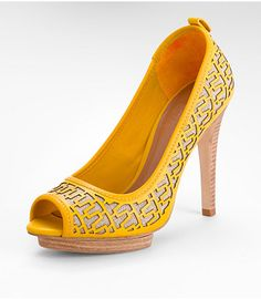 Yellow Pumps, the other colors are cute too!