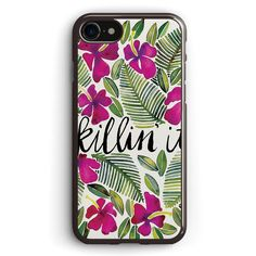 Killin  It Tropical Pink Apple iPhone 7 Case Cover ISVF192
