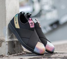 adidas Originals adidas Superstar Slip On W Core Black/ Core Black/ FTW White US 8.5 - Glami.cz