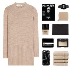 """miracle"" by kiiaa ❤ liked on Polyvore featuring Marni, NARS Cosmetics, Aesop, Butter London, Christy, Givenchy, Casetify, Aspinal of London and Casio"