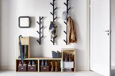 Patères et portes-manteaux design © Ikea