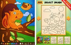 Cool Coloring - Made for kids 2-5 years old, this app is filled with 10 coloring pages, sound effects, and adorable characters. Plus it's free!    http://www.facebook.com/photo.php?fbid=571292429553002=a.319956664686581.98577.298756520139929=1