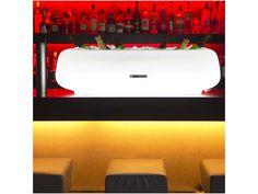 Seau à champagne lumineux Over Size Might-E Imagilights. ChampagneHeralion.com Cocktails Bar, Yacht Design, Decoration, Led, Restaurants, Bottle Holders, Candle, Decor, Restaurant