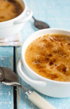 crème brulée de doce de leite