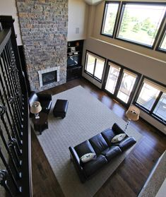 Carpet Inset Bordered By Hardwood Morton BuildingBasement RemodelingLiving Room