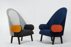 Absolutely Fabulous! Charles Kalpakian Moon Armchair, 2014 Galerie BSL