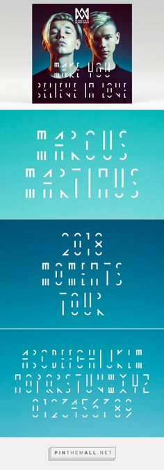 Moments Tour 2018 for Marcus & Martinus on Behance. - a grouped images picture Work Hard, Have Fun, Bands, Mac, Behance, Tours, In This Moment, Group, Logo