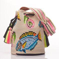 Wayuu Mochila bag fish