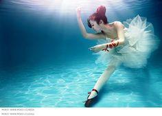 Underwater ballerina MOKO