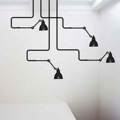 Ceiling lamp Gras/312 by Bernard-Albin Gras (1921)