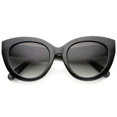 Women's 1950s Retro Oversize Cat Eye Fashion Sunglasses - zeroUV