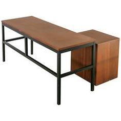 Milo Baughman for Directional Desk Annex Console Table, USA, 1960s