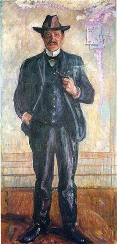 Thorvald Stang - Edvard Munch