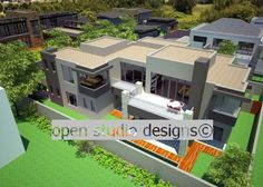 Your Open StudioDesigns plans African, House Interiors, 3d, How To Plan, Mansions, Studio, Architecture, House Styles, Gallery