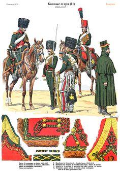 SOLDIERS- Rousselot: NAP- France: Chasseurs a cheval 1800-1815 (pl 70) 1