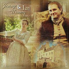Jenny & Ian in #Outlander by @Outlander_Starz  https://instagram.com/SionnachLass @donnellylaura1 #StevenCree