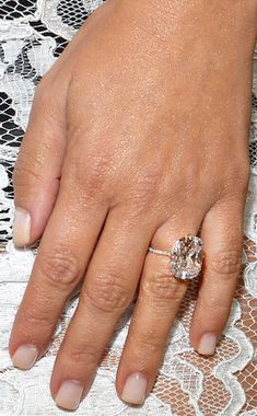 Kim Kardashian, Engagement Ring, Diamond