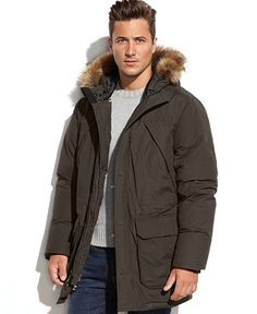 Tough Duck Canvas Parka-Big & Tall | Mens Big And Tall Coats And ...