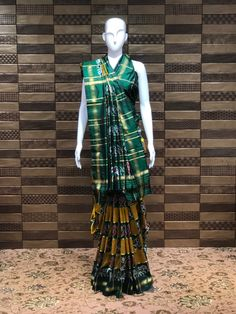 Traditional colour combination with Green and mustard pure silk Patola ♦️Shop at FESTIVAL LALGATE SURAT ♦️ Upto 20% to 50% OFF on New arrivals ♦️Lehanga choli , Gowns , Sarees ♦️Dm us for product inquiry or to shop on video calling ♦️Follow us @festival.india . . . . . #Festival #Festivalindia #indianclothing #handwork #bollywoodstyle #occasionwear #indiantradition #tradionalwear #bridalcouture #indianbride #threadwork #silk #indowestern #festive #festiveseason #plazosuits #ethnic ##f Thread Work, Occasion Wear, Bollywood Fashion, Pure Silk, Indian Outfits, Color Combinations, Saree, Gowns, Pure Products