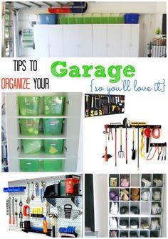 Tips for Organizing a Messy Garage | eBay (spon)