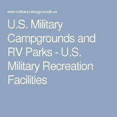 US Military Campgrounds And RV Parks Seabreeze At Seal Beach - Us military campgrounds and rv parks map
