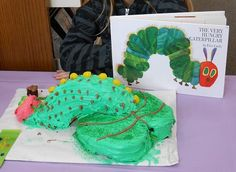 """Ryverz D. won for """"Funniest"""" with her cake of The Very Hungry Caterpillar! 2013"""