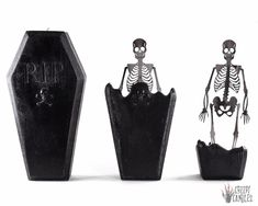 Coffin Skeleton Candle - Halloween Candles - Creepy Candles - Halloween Decor - Fall Candle - Hallow, Home Accessories, Coffin Skeleton Candle Halloween Candles Creepy Candles Halloween Candles, Halloween Home Decor, Halloween House, Halloween Gifts, Halloween Decorations, Halloween Halloween, Vintage Halloween, Halloween Makeup, Halloween Costumes