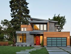 contemporary-exterior house                                                                                                                                                      More