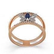 Inel Aur 18k Diamante, Safir DERUVO Sapphire, Engagement Rings, Jewelry, Diamond, Enagement Rings, Wedding Rings, Jewlery, Jewerly, Schmuck