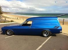 Windowless Sandman Panelvan! Australian Muscle Cars, Aussie Muscle Cars, My Dream Car, Dream Cars, Holden Australia, Cool Vans, Custom Vans, Chevrolet Trucks, Modified Cars